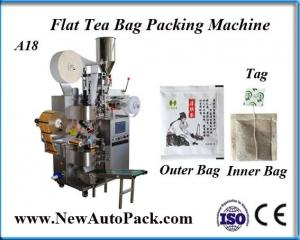 China Brown Kraft Flat Paper Bags Packing Machine on sale