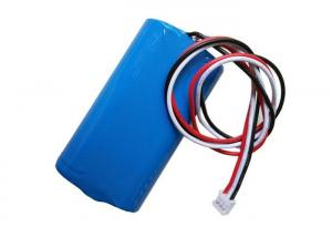 China Li-ion 18650 7.4V 2200mAh 2S1P 18650  Lithium Ion Battery Pack For Emergency Light on sale