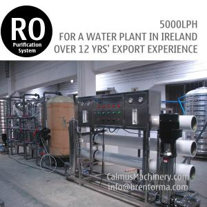 China 5TPH Ireland Ordered Industrial Water Plant RO Water Treatment System on sale