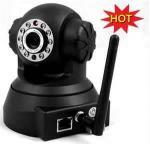 Câmara de vigilância interna sem fio do IP do IR WiFi PTZ com áudio em dois sentidos, função do alarme