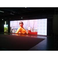 Indoor Advertising Led Display Screen , Light Weight Large Led Screens For Concerts