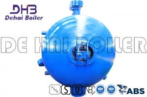 China Separate Water Boiler Drum , Pressure Drum Corrosion Resistance Water Tube Structure on sale
