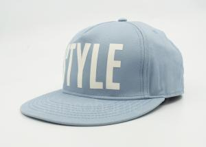 Quality Custom Cotton Twill Washed Screen Printing Baseball Caps Snapback  Blue for sale ... e263d94508bf