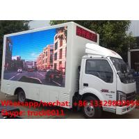 JBC LHD mobile digital billboard LED advertising vehicle for sale, China supplier of mobile LED advertising truck
