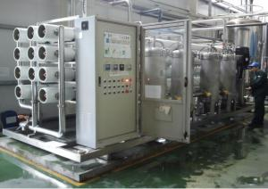 China Professional Reverse Osmosis Water Machine For Underground Water Treatment Plant on sale