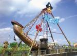 60人のおかしいネイビー・ピア観覧車の海賊船の娯楽乗車