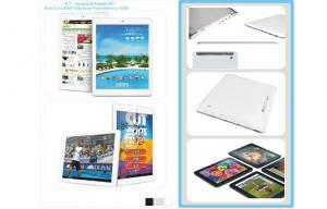 China Android 4.1 9.7  quad core processor tablet pc pad 16GB Support 1080P Video on sale