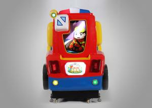 China Fire Engine Colorful Racing Coin Operated Kiddie Rides For Carnival Midway on sale