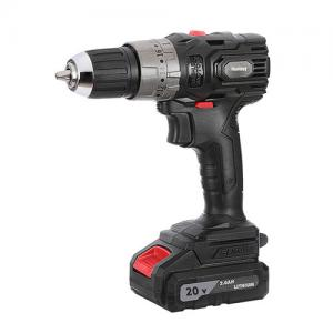 China Brushless Motor Lithium Battery Operated Cordless Drill Machine With Auto Lock Electric Brake supplier