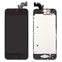 For OEM iPhone 5 Screen Replacement with LCD Display Digitizer and Home Button - Black - Grade A+