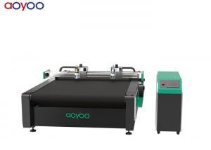 China CNC Round knife automatic jeans fabric cutting machine China supplier on sale