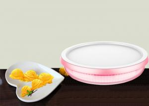 China 23cm Diametre Instant Ice Cream Maker Mango Ice Cream Roll Pan Non Electric on sale