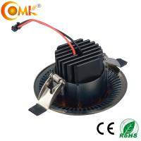 China 2 years warranty IP20 cob downlight led 12W with LED driver matched on sale