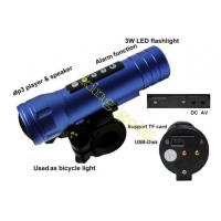LED Magic music torch 3W