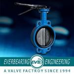 DN40-800 Wafer Butterfly Valve.Centerline Lug Butterfly Valve