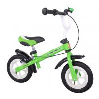 Boys / Girls Mini Green Custom Design Lightweight Kids Bikes With 28T Freewheel