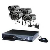 H.264 standalone DVR CCTV  System home video 4×IR Dome Camera security systems