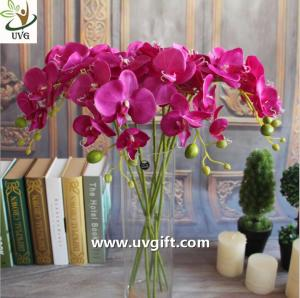 China UVG Silk blossom wholesale artificial orchid flowers for wedding decoration centerpieces on sale