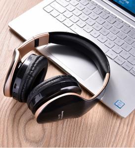 China 400mAH USB Wireless Bluetooth Headset , Foldable Stereo Headphone Earphones MP3 With Mic on sale