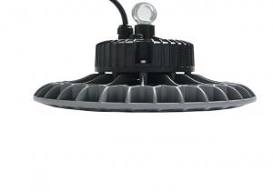 China 100w - 200w Round Led High Bay Lighting Fixtures With Excellent Surface Treatment on sale