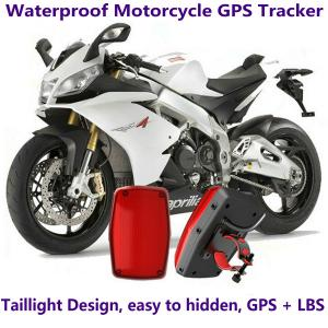 China GPS304 Waterproof Motorcycle GSM GPRS GPS Tracker LBS Locator 9~40V Support Alarm Siren on sale