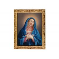 China Museum Art Gallery Religious Oil Paintings Blessed Virgin Mary on Canvas on sale