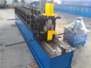 China Galvanized Metal Sheet Wall Angle Channel Making Machine Single Chain Driving System on sale