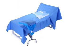 China Medical Disposable Sterile Drape Sheets For Hospital Chest Surgery on sale