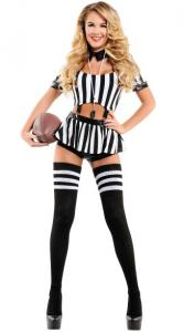 China Referee Sports Costumes Rowdy Referee Costume Wholesale for Halloween Party on sale