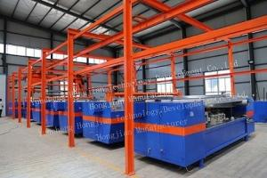 China automatic electroplating plant for rotogravure cylinder making (first generation) on sale