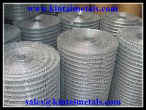"China 1/2"" galvanized square wire mesh after welding wire mesh on sale"
