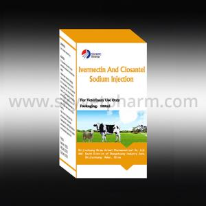 China Ivermectin and Closantel Sodium Injection on sale