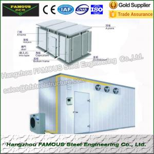 China Super Tongue And Groove 50mm Panel Cold Room Freezer High Density on sale