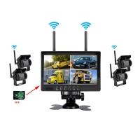 Wireless Truck CCTV Cameras with 4 channels cameras recording and monitoring