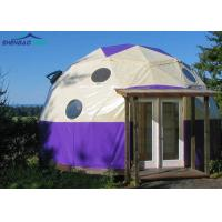 China Galavized Steel Pipes Dome Military Grade Tents With Pvc Cover on sale