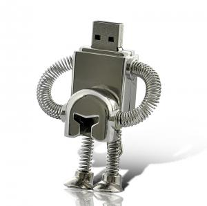 China Silver Metal Pen USB Flash Drive with Logo 2g on sale