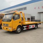 Camión de remolque plano del camión de auxilio en venta