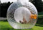 Diam 2.6m Giant Inflatable Human Hamster Ball Customized Design Is Acceptable