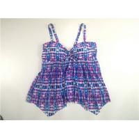 Aztek Women Plus Size Swimdress Polyester Material Mesh Skirt Adjustable Strap