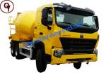China Sinotruk HOWO A7 Concrete Mixer Truck 25T 12m3 Capacity 6X4 Driving Type