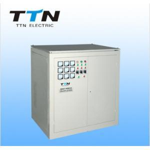 China SBW-Fの独立したタイプ補償の三相100000ワットAC自動電圧調整器 on sale