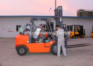 China Newly Design Red 4T 6m LPG Forklift Trucks With 2m Long Fork Extension on sale