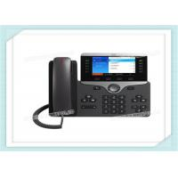 China Wall Mountable Cisco IP Phone CP-8861-K9 With Headset Auto - Answer Agent Greeting on sale