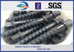 China Customized 35# 45# Railroad Screw Spike For Railway Fastening System Construction wholesale