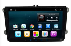 China 9 inch android car dvd stereo player with car gps navigation system for VW universal on sale