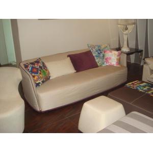 Quality Кресло современной кожи живущей комнаты секционное с высокой плотностью пенится, ткань итальянской софы б/б for sale