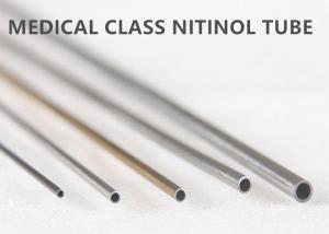 China Superior Shape Memory Special Alloys Nitinol Tube supplier