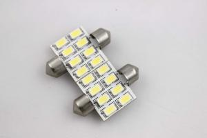 China 36MM Car Dome Light Bulbs Voltage working range 12VDC / 24VDC SMD5630 on sale