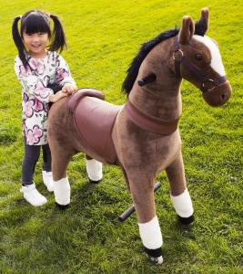 China Mechanical ride on horse toy,  walking horse toy for 3-6 ages kids, animal riding toy, horse toy, rocker horse supplier