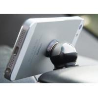 GPS Sliver Magnetic Smartphone Car Holder With ABS / Metal And 540 Degree Rotating